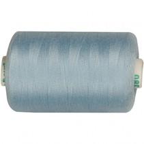 naaigaren polyester lichtblauw 1000 meter
