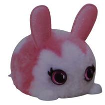 DIY-dier Fuzzy Fun junior 8 x 11 cm pluche roze/wit