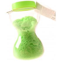 zand-putty in zandloperpot ultralicht junior 14 cm groen