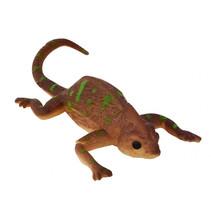 kleurveranderende kameleon junior 13,5 x 5 cm bruin