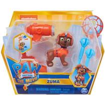 speelfiguur Paw Patrol Zuma junior oranje 4-delig
