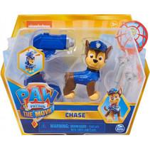 speelfiguur Paw Patrol Chase junior blauw 4-delig