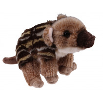 knuffeleverzwijn Mountain Puppies 17 cm pluche bruin