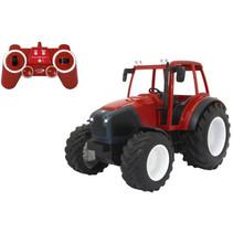 traktor Lidner-Geotrac 29,5 x 18 x 21 cm rood 2-delig