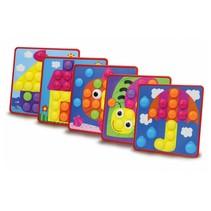 vormenspel Creative Pins junior set A 50-delig