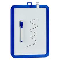 magneetbord junior 30 x 21,5 x 1,5 cm donkerblauw