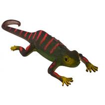 kleurveranderende kameleon junior 13,5 x 5 cm groen