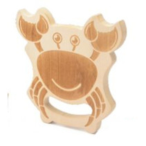 krabbenvanger junior 14 x 2,1 cm hout/jute naturel