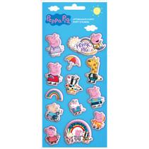 stickers puffy junior 10 x 22 cm vinyl 13-delig