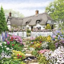 legpuzzel Country Cottage 58 cm 1000 stukjes