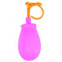 mini-waterspuiter Ring junior 7 cm roze/oranje