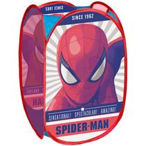 opbergmand Spider-man junior 36 x 35 x 58 polyester rood
