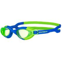 duikbril junior siliconen blauw/groen 2-6 jaar