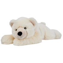 knuffelijsbeer Super Flopsie 68,5 cm pluche wit