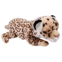 knuffelpanter Wild Pups 26 cm pluche bruin