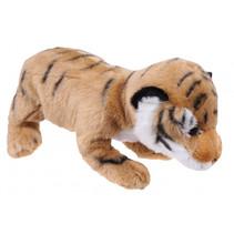knuffeltijger Wild Pups 26 cm pluche bruin
