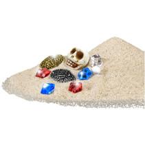 opgravingsspel Pirate Treasure junior 13 x 21 cm 10-delig