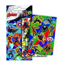 stickers Avengers junior papier 3-delig