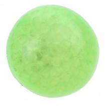 squishy bal met licht groen 70 mm