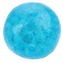 squishy bal met licht blauw 70 mm