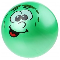 speelbal Smiley junior 20 cm groen