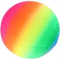 fleurige bal regenboog