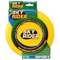 frisbee Sky Rider Sport 95 gram geel 22 cm