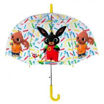 paraplu junior 42 cm polyester transparant