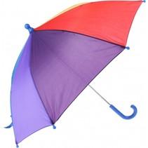 kinderparaplu blauw 70 cm