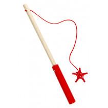 speelgoed vishengel junior 24 cm rood
