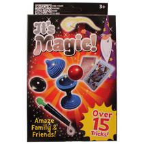 goochelset It's Magic junior 15 trucs rood