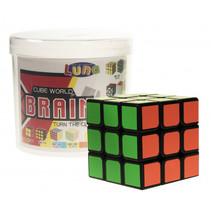 Rubik's Cube 3 x 3 Luna 5,7 cm tweedelig