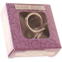 breinbreker Brain Games 5 x 2 cm staal zilver/violet