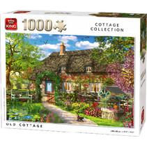 legpuzzel oud huisje 68 x 49 cm karton 1000 stukjes