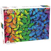 legpuzzel regenboog vlinders 500 stukjes