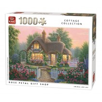 Legpuzzel Rose Petal Gift Shop 1000 stukjes