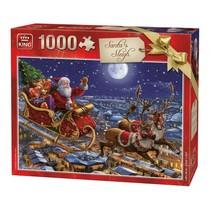 Puzzel Santa's Sleigh 1000 Stukjes