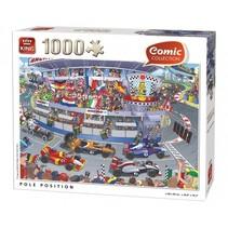 Legpuzzel Comic Collection racebaan 1000 stukjes