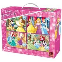 legpuzzel Disney Princesses 4-in-1 12-24 stukjes