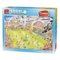 legpuzzel Soccer Stadium 1000 stukjes