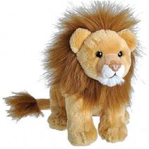 knuffel leeuw 20 cm pluche bruin