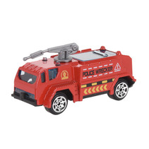 hulpdienstvoertuig Brandweer gepantserd jongens 7 cm staal rood