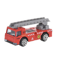 hulpdienstvoertuig Brandweerkraan jongens 7 cm staal rood