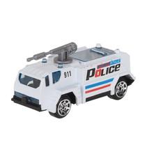 hulpdienstvoertuig Politie gepantserd jongens 7 cm staal wit