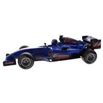 racewagen met licht en geluid jongens 25 cm blauw