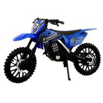 crossmotor 17 cm jongens 1:12 blauw