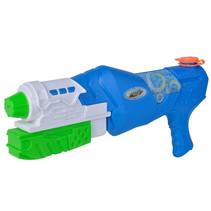 waterpistool Waterzone Strike Blaster 38 cm blauw/groen