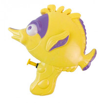 waterpistool vis junior 17 cm geel