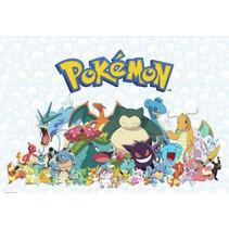 muursticker Pokémon junior 65,2 x 91,7 cm vinyl