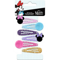 haarspeldjes Minnie Mouse meisjes RVS 6 stuks